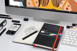 Nueva libreta digitalizadora es lanzada por Adobe y Moleskine