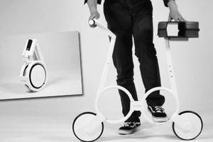 ¿Una bicicleta que podrás cargar en el bolso?