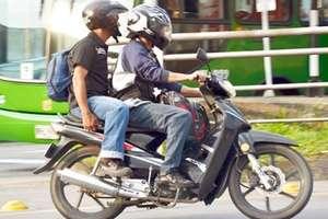 La restricción para acompañante en moto será levantada provisionalmente