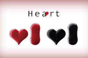 Nuevo teléfono con forma de corazón