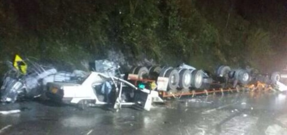 A ocho se eleva número de muertos en accidente en vía Bogotá-Villavicencio