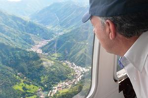 Presidente Santos declara calamidad pública en zona de desastre de Salgar, Antioquia