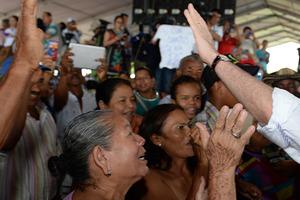 La paz de Colombia comienza en el campo, afirmó el Presidente Santos