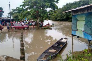 Inundaciones afectan 49 familias en el municipio de Puerto López