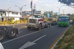Desde hoy restricción de vehículos de carga en red vial del Meta y el resto del país