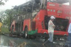 Queman bus de Flota La Macarena en Vistahermosa