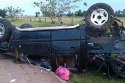 Un muerto y cuatro heridos en accidente en vía Villavicencio-Puerto López