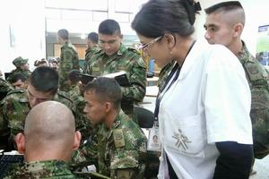 Cupos en el SENA para soldados heridos en combate
