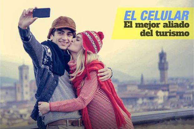 El celular es el mejor aliado del turismo