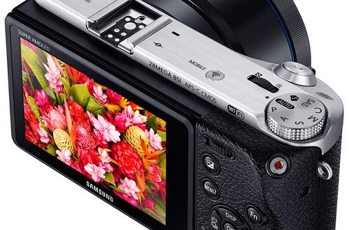 Samsung presenta su nueva cámara NX500