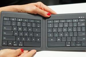 Microsoft muestra una nueva versión del teclado universal