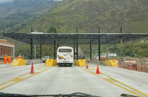Reubican peaje de Puente Quetame hacia nuevo sector de Naranjal sobre vía a Bogotá