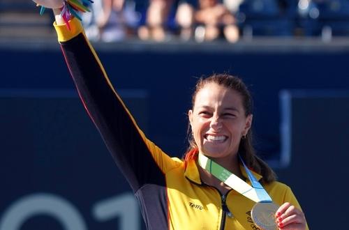 Mariana Duque y su histórico oro para Colombia en los Panamericanos