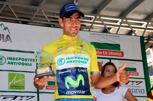 El metense Ómar Mendoza campeón de la Vuelta a Antioquia