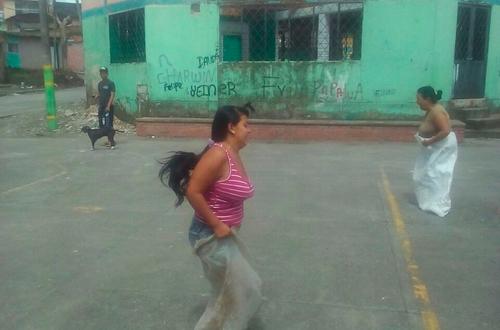 La otra cara del barrio Brisas del Guatiquía