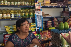 Tenderos de barrios afectados por sucursales de grandes supermercados