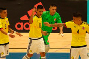 Definidas 24 selecciones al Mundial de Futsal en Colombia