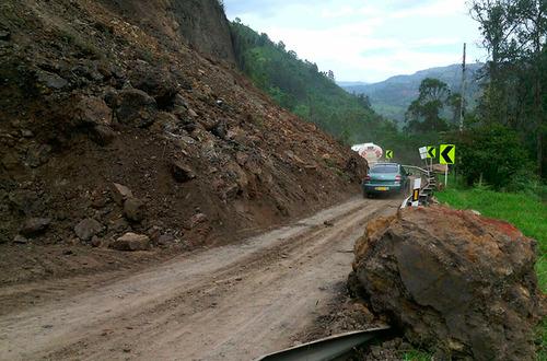 Continúa cerrada vía Bogotá-Villavicencio
