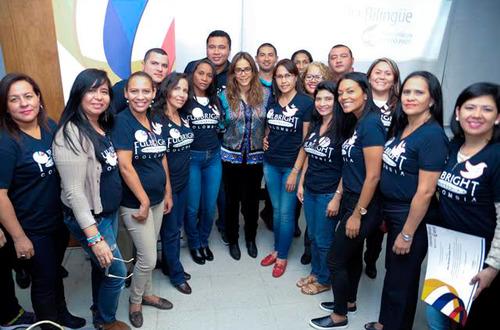 70 docentes colombianos viajarán a Estados Unidos para fortalecer su inglés