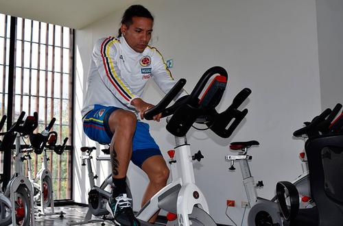 Nuevos jugadores se unen a concentración colombiana en Bogotá