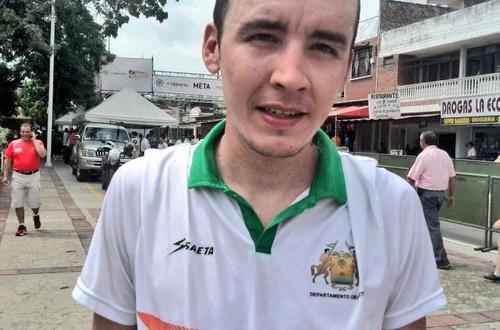 El metense Cristian Serrano en la élite del ciclismo en Juegos Panamericanos