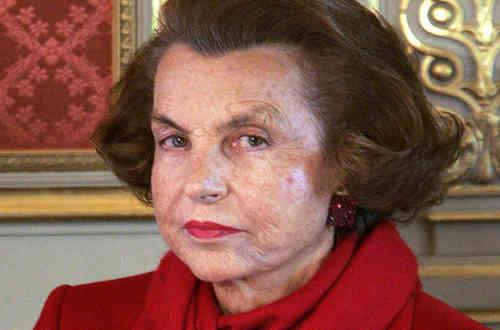 Murió la mujer más rica del mundo.