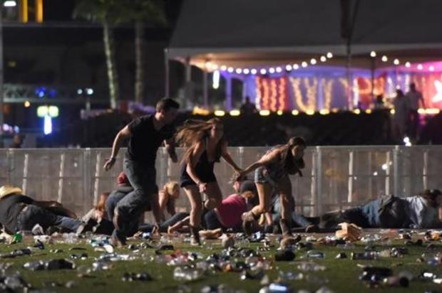 En vídeo, ataque en Las Vegas que  deja 50 muertos y 400 heridos