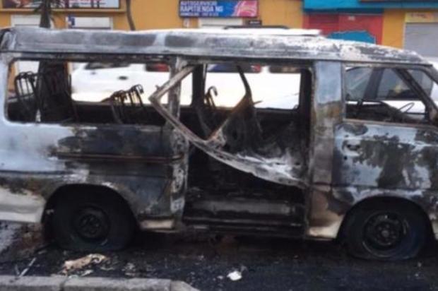 Se incendia bus escolar en Bogotá