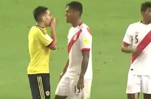 ¡En vídeo... El momento en que se pactó el empate: Colombia Vs Perú!