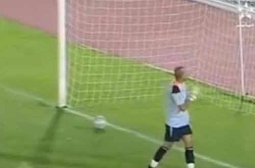 En Vídeo: !El tiro de penalti que enloquece internet!