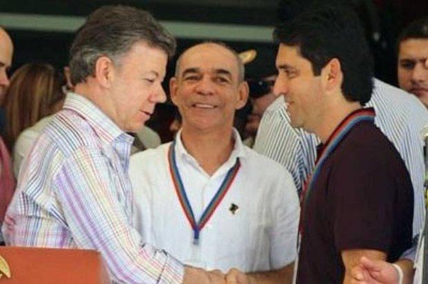 Juan Guillermo Zuluaga con funciones presidenciales
