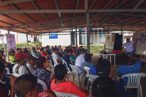 4.000 Reinsertados se capacitaron en economía solidaria
