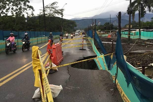 Rutas alternas en Villavicencio por las fuertes lluvias