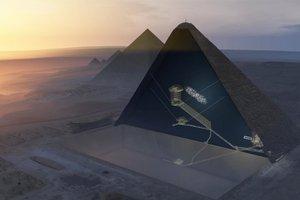 Cámara oculta en la gran pirámide de Guiza gracias a los rayos cósmicos