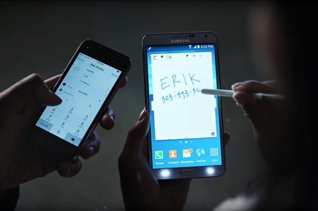 El nuevo comercial de Samsung, se burla de iPhone