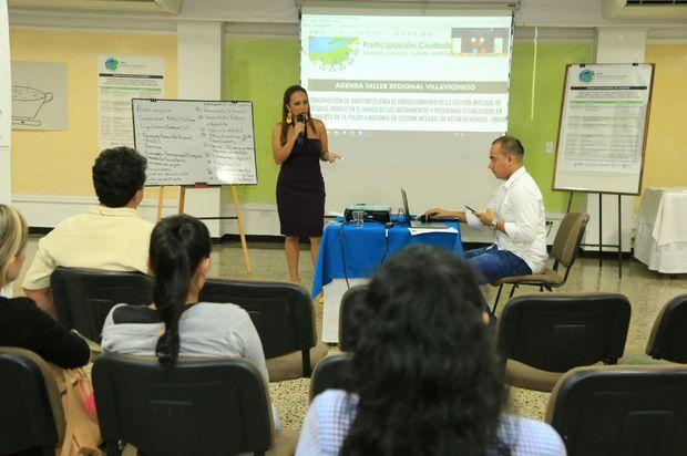 Cormacarena, en el Taller de Participación Ciudadana para cultura del agua