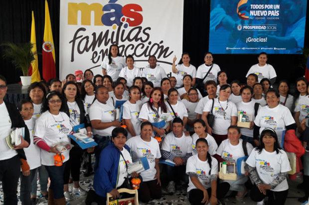"""Inicia la entrega anual de los incentivos de """"Más familias en Acción"""""""