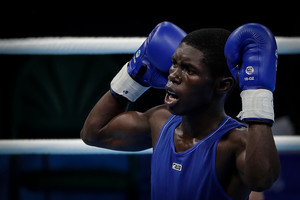 Yuberjen clasificó a la final de boxeo en juegos Bolivarianos