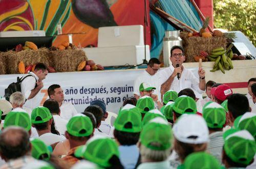 MinAgricultura  suscribió alianzas de producción que beneficiarán al Llano