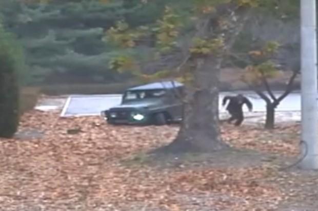 ¡En vídeo! La fuga de un soldado Norcoreano