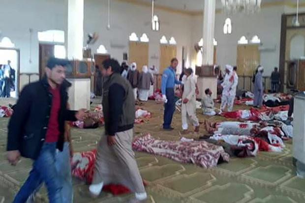 235 muertos dejó ataque terrorista en Egipto