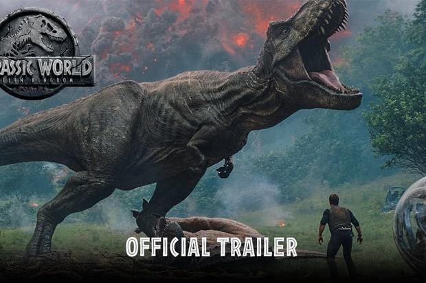 Tráiler oficial de Jurassic World: Fallen Kingdom