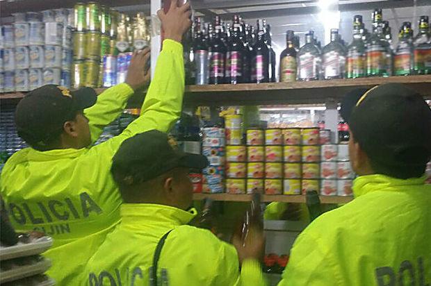 300 botellas de licor adulterado fueron incautadas en la región del Ariari