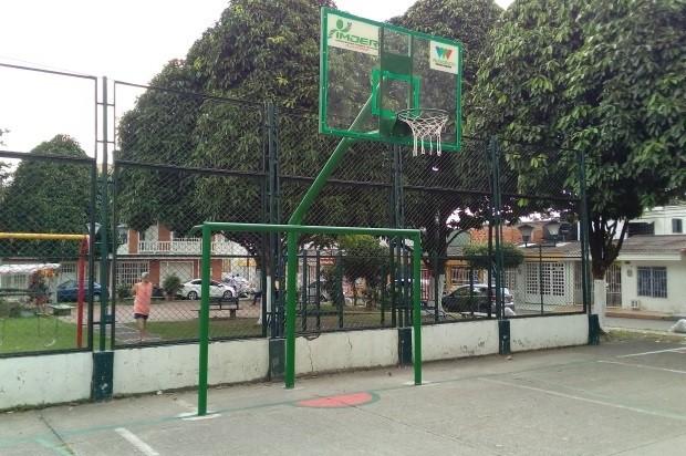 33 polideportivos de Villavicencio han sido mejorados