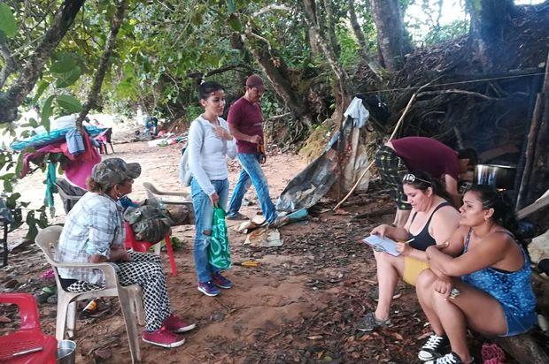 Recomendaciones a visitantes de las lagunas Lomalinda y San Vicente