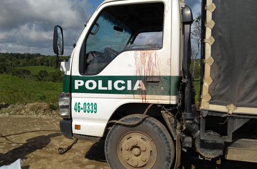 A Villavicencio trasladan policías heridos en emboscada en Mesetas