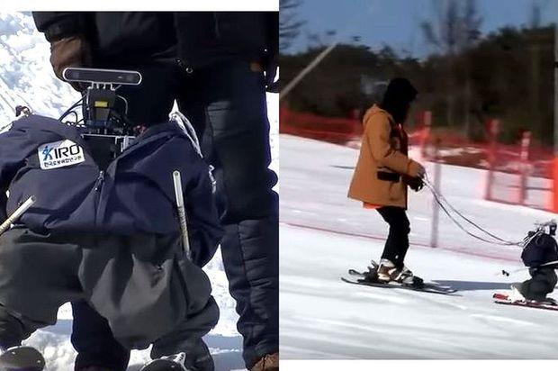 Los robots también participaron en los Juegos Olímpicos de Invierno