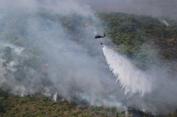 333 incendios forestales se han presentado en el Meta