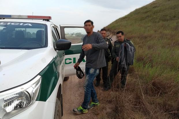 En San Carlos de Guaroa fue hallado hombre que raptó menor en Chía