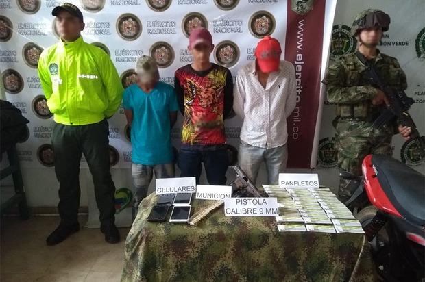 Caen tres presuntos integrantes de la red de finanzas del 'clan del Golfo'